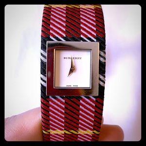 Burberry Pink Nova Check Women's Wrist Watch